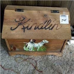 FIREPLACE SUPPLY BOX