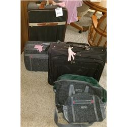 LOT OF 3 PIECE LUGGAGE