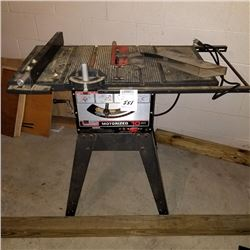 "SEARS 10"" MOTORIZED TABLE SAW"