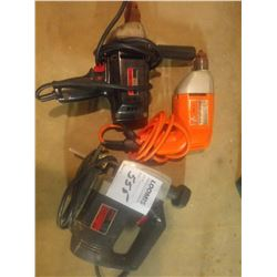 SKILL JIG SAW, BLACK & DECKER, CRAFTSMAN DRILLS