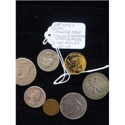 LOT OF US COLLECTOR'S COINS