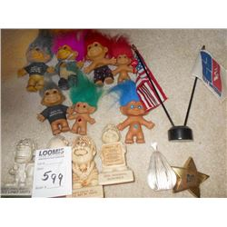 HUMOROUS COLLECTIBLE FIGURINES, TROLLS, MORE