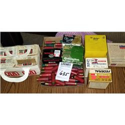 ASSORTED SHOTGUN SHELLS, STOCK FINISH KIT