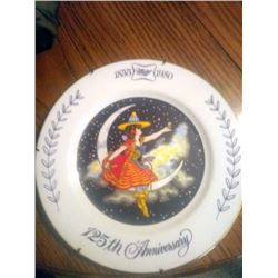 125TH GIRL ON MOON MILLER PLATE