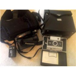 VINTAGE CAMERA & VIDEO RECORDER