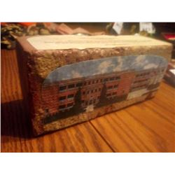 COMMEMORATIVE ART BRICK OF WOODROW WILSON HIGH SCHOOL