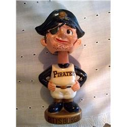 PITTSBURGH  PIRATE Vintage Toy Baseball Bobble Head