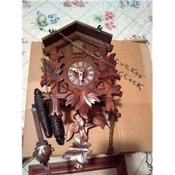 VINTAGE CUCKOO CLOCK / NEW IN BOX