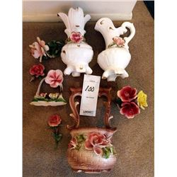 VINTAGE CAPODIMONTE COLLECTION LOT