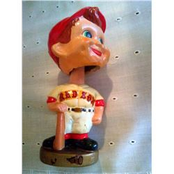 VINTAGE RED SOCKS BOBBLE HEAD