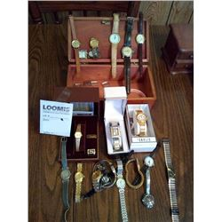 LOT OF VINTAGE WATCHES, MEN'S AND WOMEN'S