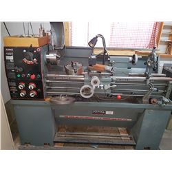 "King Lathe 14""x40"" 220v  1ph"