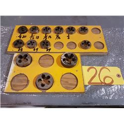 Wooden Stand of Dies