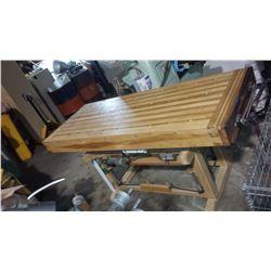 Adjustable Wood Work Table