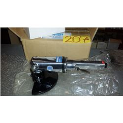 """New Eagle Industries 7"""" Air powered Angle Grinder model 5118"""