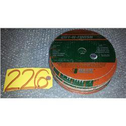 "Cut-N-Finish Disc 7"" x 7/8"""