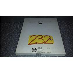 """Pack(50) of Sanding Paper 9""""x11"""" Gr.320"""