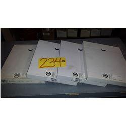 """Packs(50) of Sanding Paper 9""""x11"""" Grit 150-240-320-400"""
