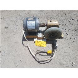 Electric Motor 1/4hp system
