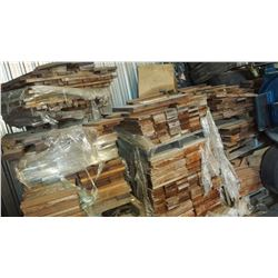 Lot of TECK wood