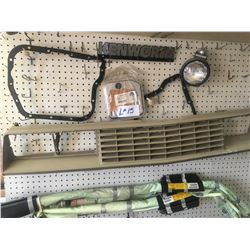 Automotive parts, H.D. Chain & Clamps and misc. items