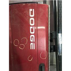 4 - end gates (2 Red Dodge & 2 Dodge H.D. 4x4 SLT)