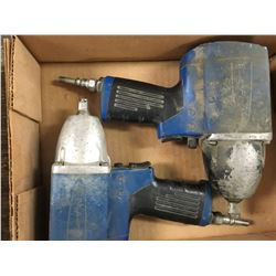 "Blue Point 1/2"" impact wrench AT-650, SN#07270129, Blue Point 3/8"" impact wrench At-360 SN#03231337"