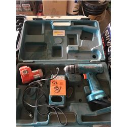 Makita rechargeable drill model #379280 w/battery in case
