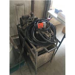 Older pressure washer with hose AC motor Model #4J207DBY7