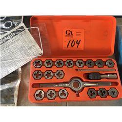 Tungsten 41 piece tap & die set metric