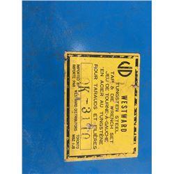 Westward Tap & Die wrench set 9110 pc SAE & metric)