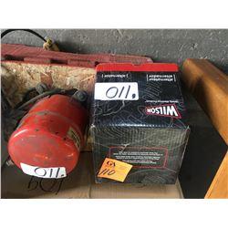 12V Wilson Alternator 9L3T-10300-CB-TN104210-5970 plus vac pump used #2212 SN#50768