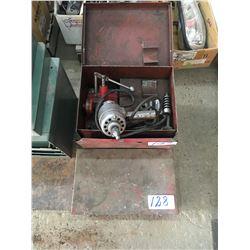 Valve stone grinder plus axle hub puller