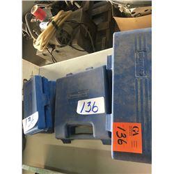 "Westward 12pc 1/2"" drive 1/2"" u-joint socket set, 2 - 11 pc 3/8"" universal socket set"