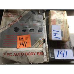 7 pc CEL autobody repair kit Lifetime warranty - technician valve adaptor kit #A94A00