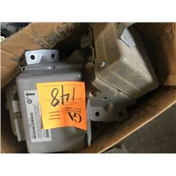 Pallet of asst'd used truck modules & instrument clusters