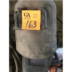 Hobart MiG welder w/cart 115V 25-140 AMP SN LJ361051Y plus 2 helmets