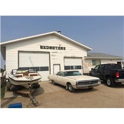 Real Estate -  2 lots with Shop w/paint booth and hoist Parcel #117616776, Lot 24-Blk/Par 3-Plan 82S