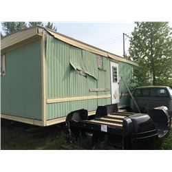 House trailer w/older W&D, microwave