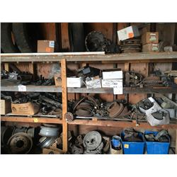 Automotive parts and tires