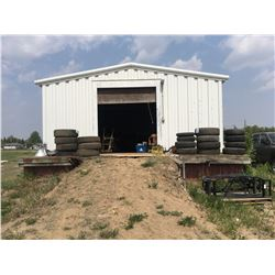 Bulk storage shed and fenced compound 903 Railway Street, dock loading, clean enviro