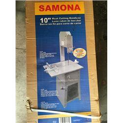 "Samona 10"" meat cutting bandsaw new"