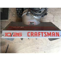 "Craftsman 10-26-12"" impeller turbine snow blower"