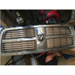 1 new and 1 used front grill for 2010 Dodge 350 diesel