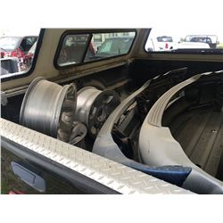 Truck salvage parts and tires