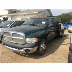 2003 Ram 350 Deck Truck