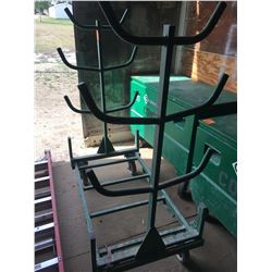 Greenlee conduit & pipe rack #GFX668 w/cart