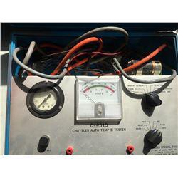 Partial kit Snap On Fuel pressure Gauge set & Millar Chrysler Auto Temp II Tester