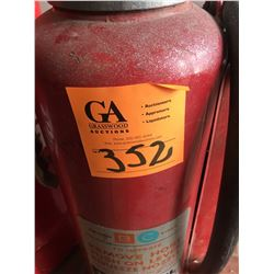 Red Raybestos small barrel plus model-20D Fire Extinguisher