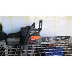 "Craftsman 16"" Chain Saw (no chain)"